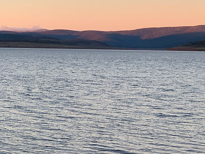 Sunset at Lake Eucumbene.JPG
