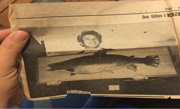 Largest trout caught in Lake Eucumbene -
