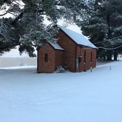 Church at Old Adaminaby (Lake Eucumbene)
