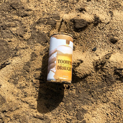 A very old Tootheys Draught can - found