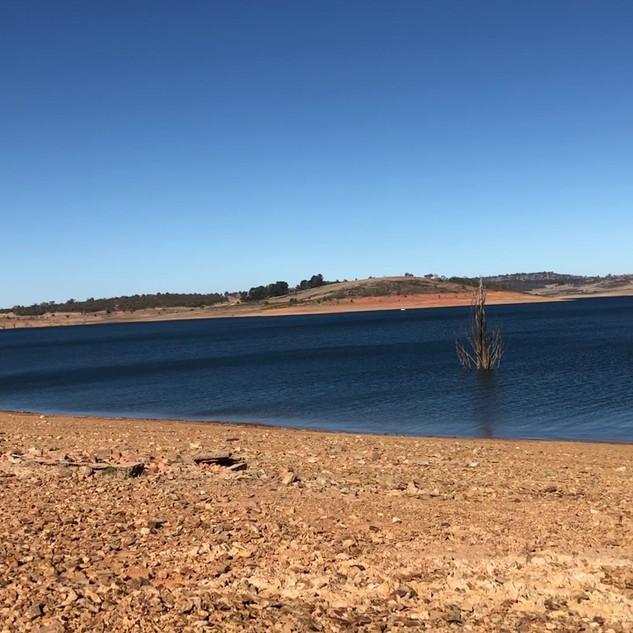 Video - Old Adaminaby. Lake Eucumbene at