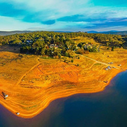 Laurie Owens - Drone pic Old Adaminaby -