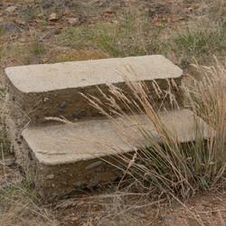 Lake Eucumbene Ruins - steps at Old Adam