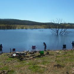Summertime fishing at Anglers Reach.JPG