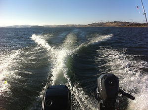 Boating on Lake Eucumbene.JPG