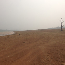 Lake Eucumbene Weather - smoke  day.JPG