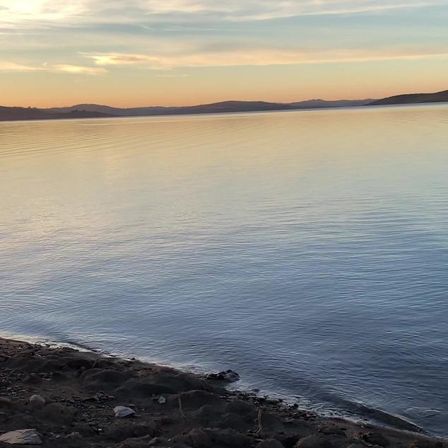 Video - sunrise at Trout Island - Lake E