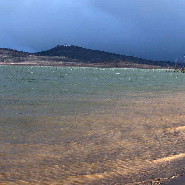 Winter storm at Old Adaminaby - Lake Euc