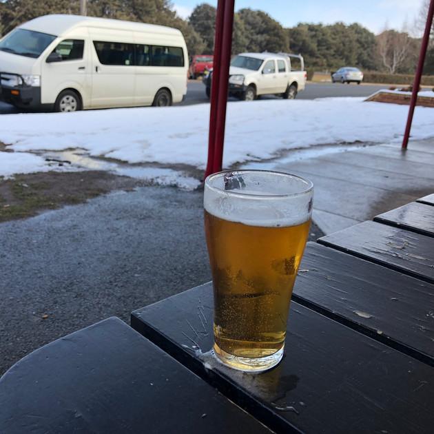 A quiet Beer at the snowgoose - Adaminab