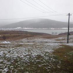 Snow at Anglers Reach - Lake Eucumbene -