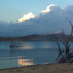 Summer storm near Middlingbank - Lake Eu