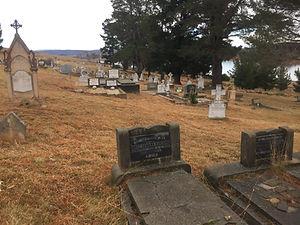 Old Adaminaby Cemetery - Lake Eucumbene.