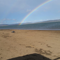 Sam Sgarioto - Rainbow over Lake Eucumbe