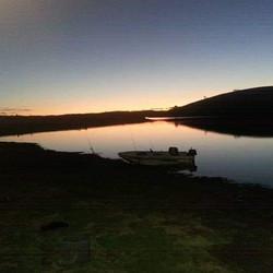 Mick Eggleton - Sunset Lake Eucumbene.JP