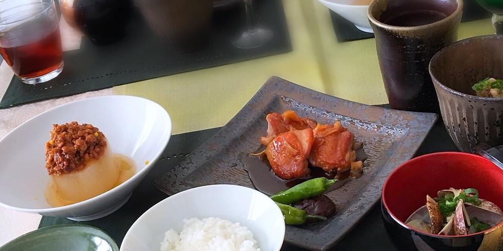 某料理教室人気講師 小田先生の「ちょっとご馳走ご飯」の会 (1)