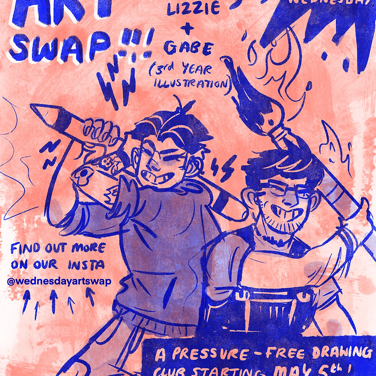 Student Sessions | Wednesday Art Swap