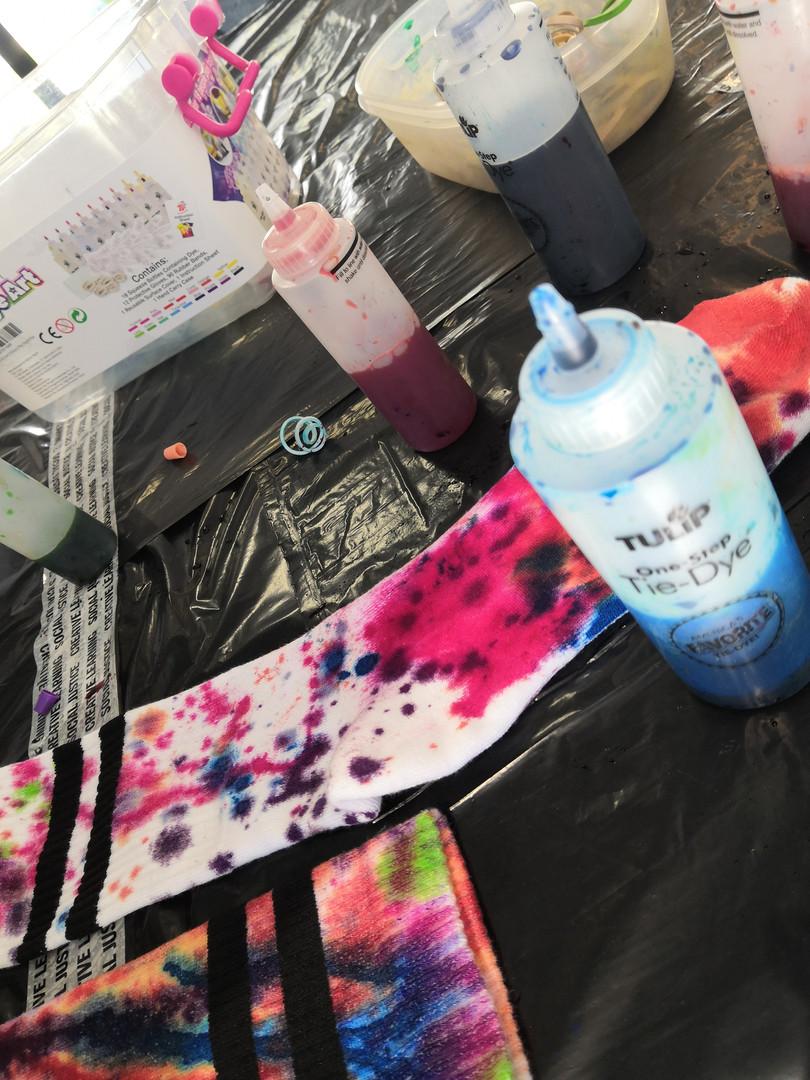Tie-Dye Lunch