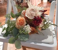 Warm Fall Bridesmaid