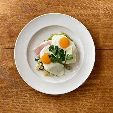 Ham, Eggs, bubble and squeak