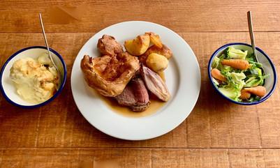 Sunday roast at Kitchen