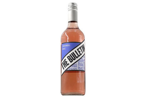 THE BULLETIN ZINFANDEL ROSE - CALIFORNIA