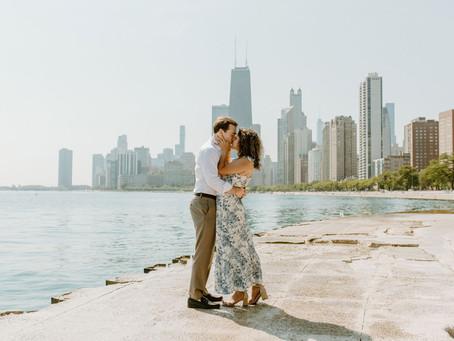 Chicago Engagement Session   Tamara & Sam