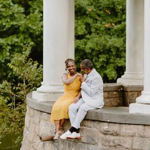 Anniversary Shoot in Piedmont Park   Thea & Beau