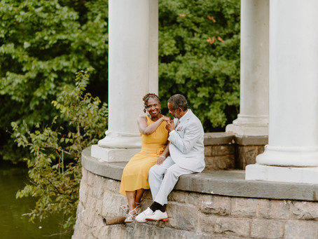 Anniversary Shoot in Piedmont Park | Thea & Beau