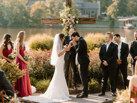 Intimate Backyard Wedding   Tabitha & Nathaniel