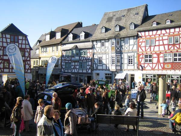 Narzissensonntag Marktplatz Bad Camberg