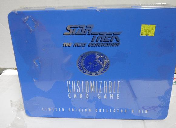 STAR TREK The Next Generation Customizable card set in tin.