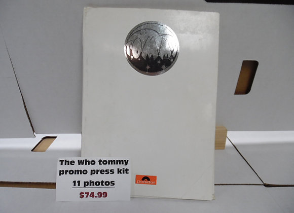 "The Who ""Tommy"" Promo Press Kit."