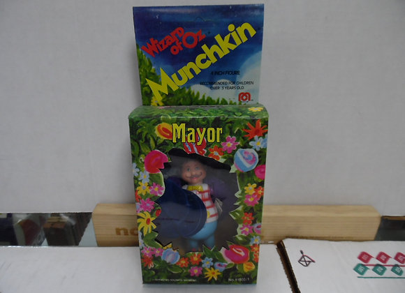 Wizard of Oz Mayor Munchkin Figure