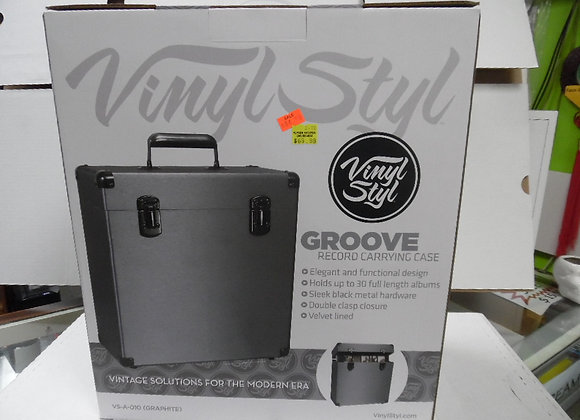 """VINYL STYL """"Groove"""" Record Carrying Case."""