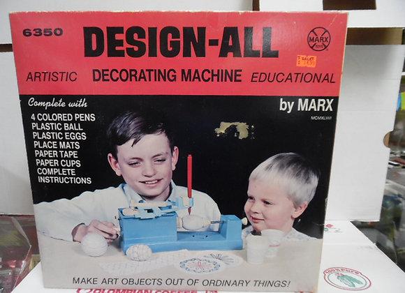 DESIGN ALL DECORATING MACHINE