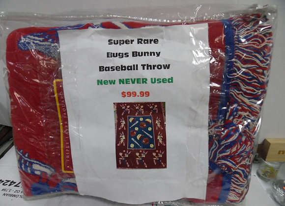 super rare bugs bunny baseball throw NEW NEVER USED