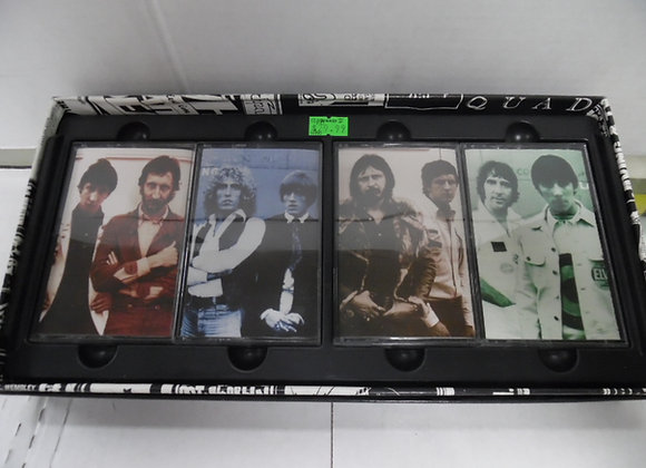 THE WHO 4 CASSETTE Set 30 Years of Maximum R&B
