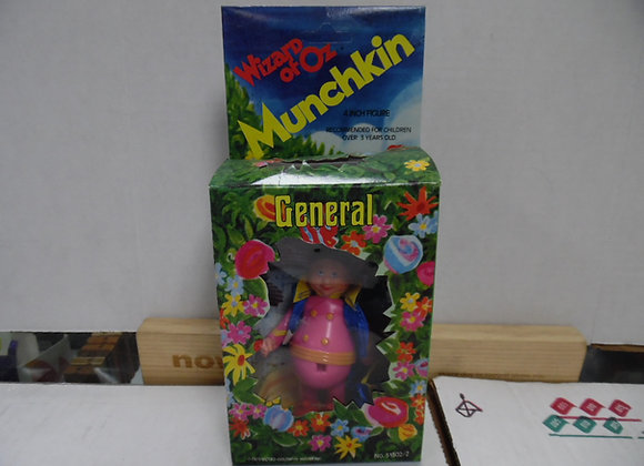 "Wizard of Oz General Munchkin Figure 4""Circa 1975"
