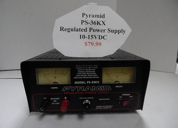 Pyramid PS-36KX Regulated Power Supply