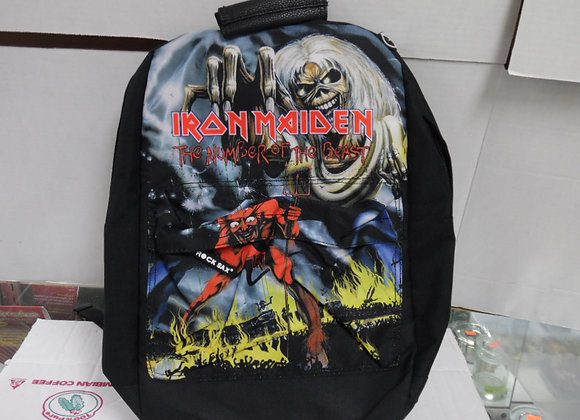 ROCK SAX Iron Maiden Backpack Number of the Beast