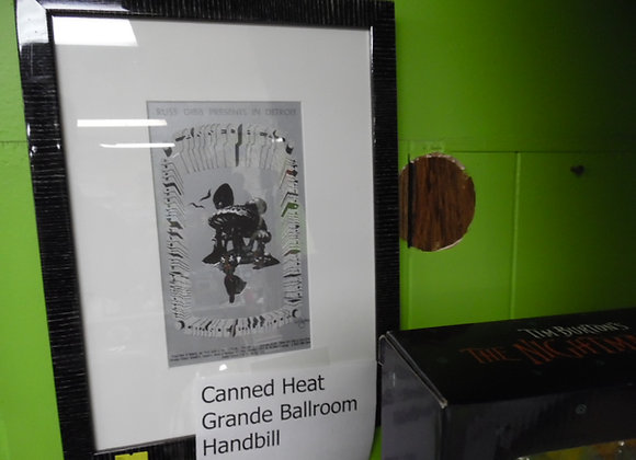 Canned Heat Grande Ballroom Handbill