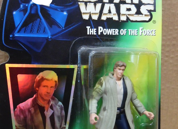 Star Wars The Power of The Force Han Solo in Endor Gear