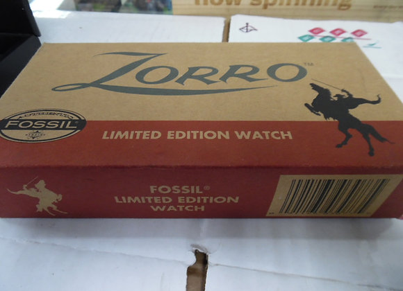 ZORRO Fossil Limited Edition Watch