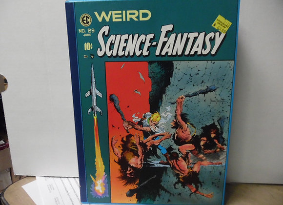 "EC COMICS ""Science-Fantasy""RUSS COCHRANE. Contains 2 Hadrcover Books"