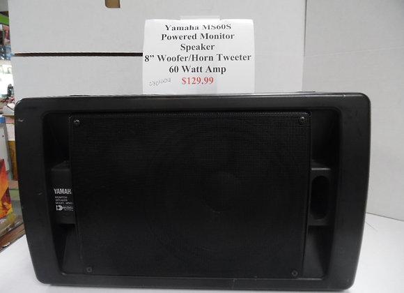 Yamaha MS60S Powered Monitor Speaker