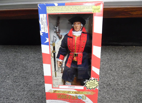 "Captain continental navy figure (soldiers of the world 12"")"