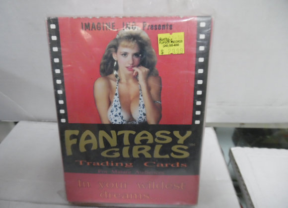 """FANTASY GIRLS Trading Cards By Image Inc. """"MATURE MATERIAL"""""""