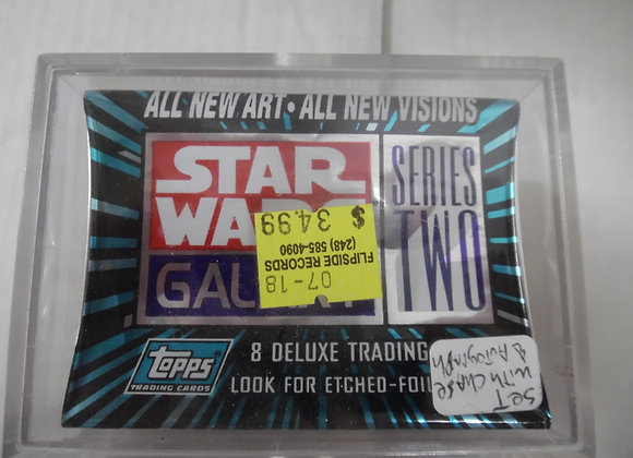 STAR WARS GALAXY Series Two . Full Set With Chase And Autograph