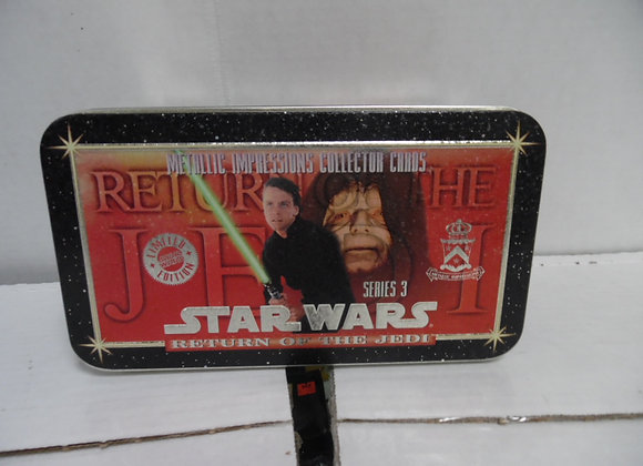 STAR WARS Return Of The Jedi. Metallic Impressions Collector Cards Series 3