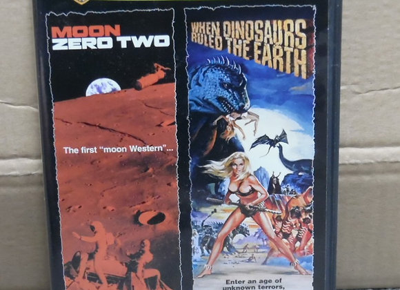 Moon Zero Two / When Dinosaurs Ruled the Earth DVD Double Feature